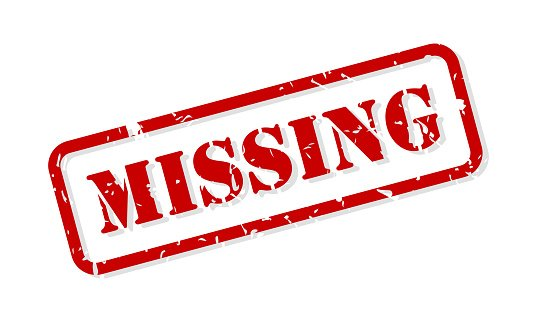 Missing Rubber Stamp Vector | Photo: Getty