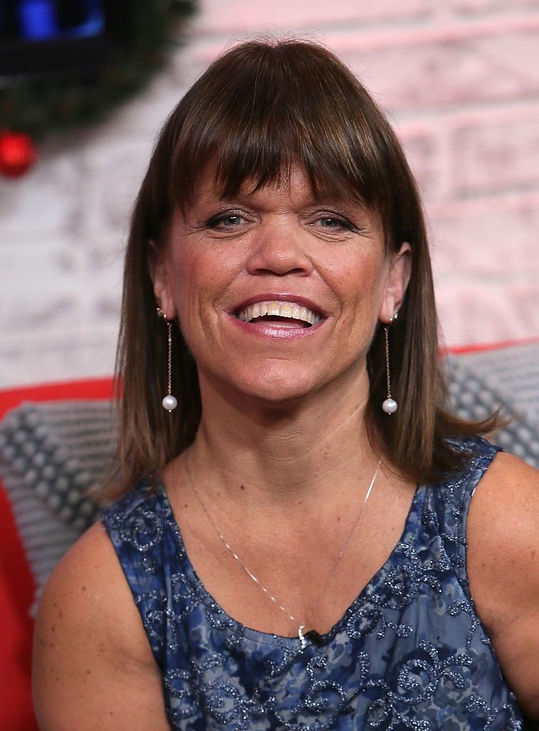 Amy Roloff at Hollywood Today studio on December 13, 2016 in Hollywood, California | Photo: Getty Images