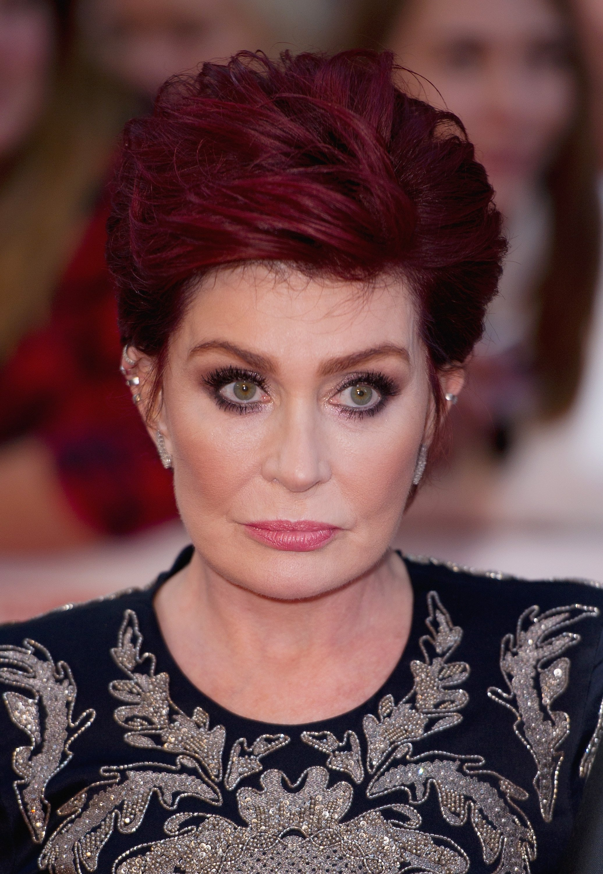 Sharon Osbourne at the Pride of Britain awards at The Grosvenor House Hotel on September 28, 2015 in London, England | Photo: Getty Images