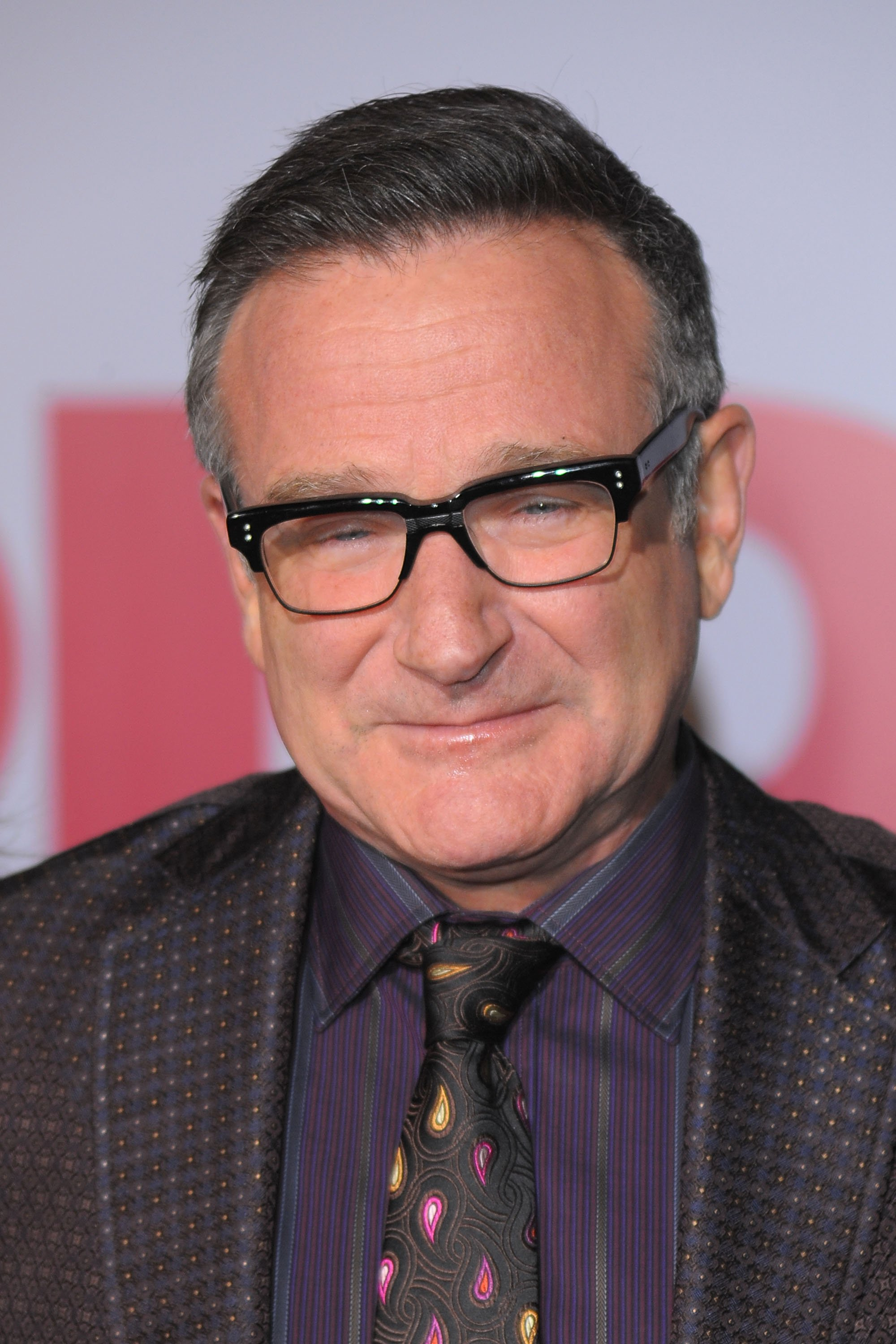 "Robin Williams attends the premiere of ""Old Dogs"" in Hollywood, California on November 9, 2009 