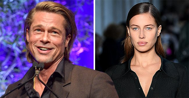 People: Brad Pitt and Nicole Poturalski Were Never Together, but Were Casually Dating