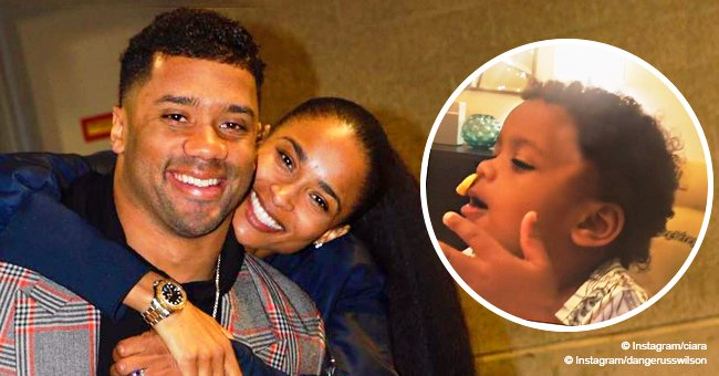Ciara & Russell Wilson's daughter, 1, shows off her 'great sense of humor' in adorable new video
