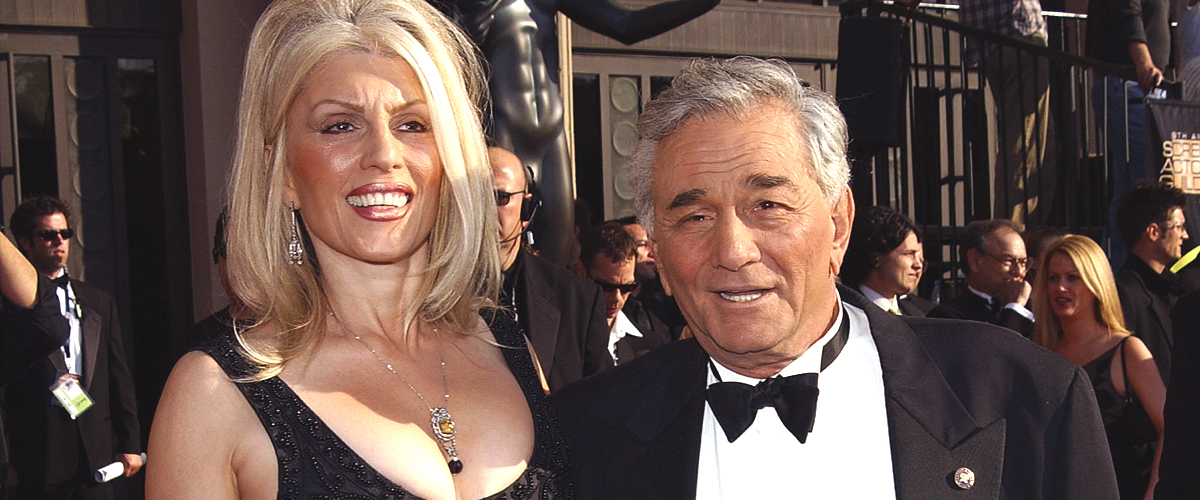 A Glimpse into Late 'Columbo' Star Peter Falk's Marriage to Shera Danese