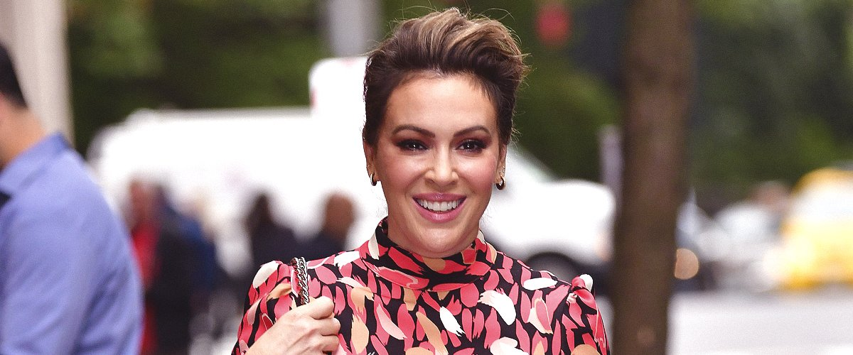 Alyssa Milano from 'Who's the Boss?' Is 47 Now and Has Kids Who Look like Her Mini-Mes