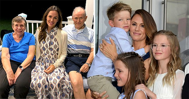 Jennifer Garner Honors Grandparents Day by Posting a Rare Photo with Her Parents