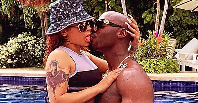 Keyshia Cole Shows Passionate PDA with Muscular Boyfriend Who Holds Her in His Arms in Pic