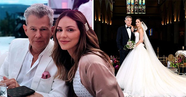 David Foster and Katharine McPhee Declare Love to Each Other on Their First Wedding Anniversary