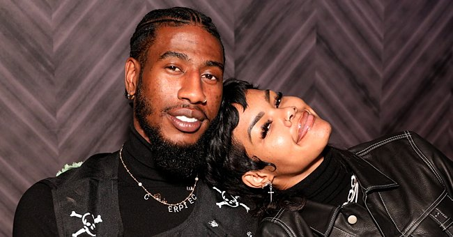 Teyana Taylor's Husband Iman Shumpert Shares Cute Pic of Newborn Daughter Rue in Floral Onesie