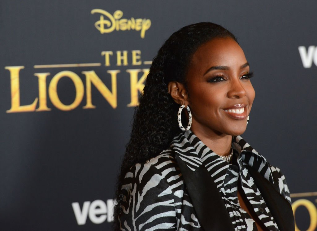 "Kelly Rowland arrives for the Premiere Of Disney's ""The Lion King"" held at Dolby Theatre 