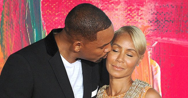 """Will Smith and Jada Pinkett Smith at the premiere of """"Gemini Man"""" at the TCL Chinese Theatre in Hollywood, California on October 6, 2019 