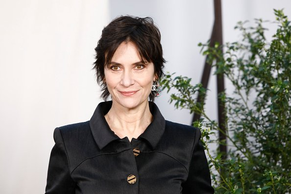 Geraldine Pailhas au Grand Palais le 21 janvier 2020 à Paris, France. | Photo : Getty Images