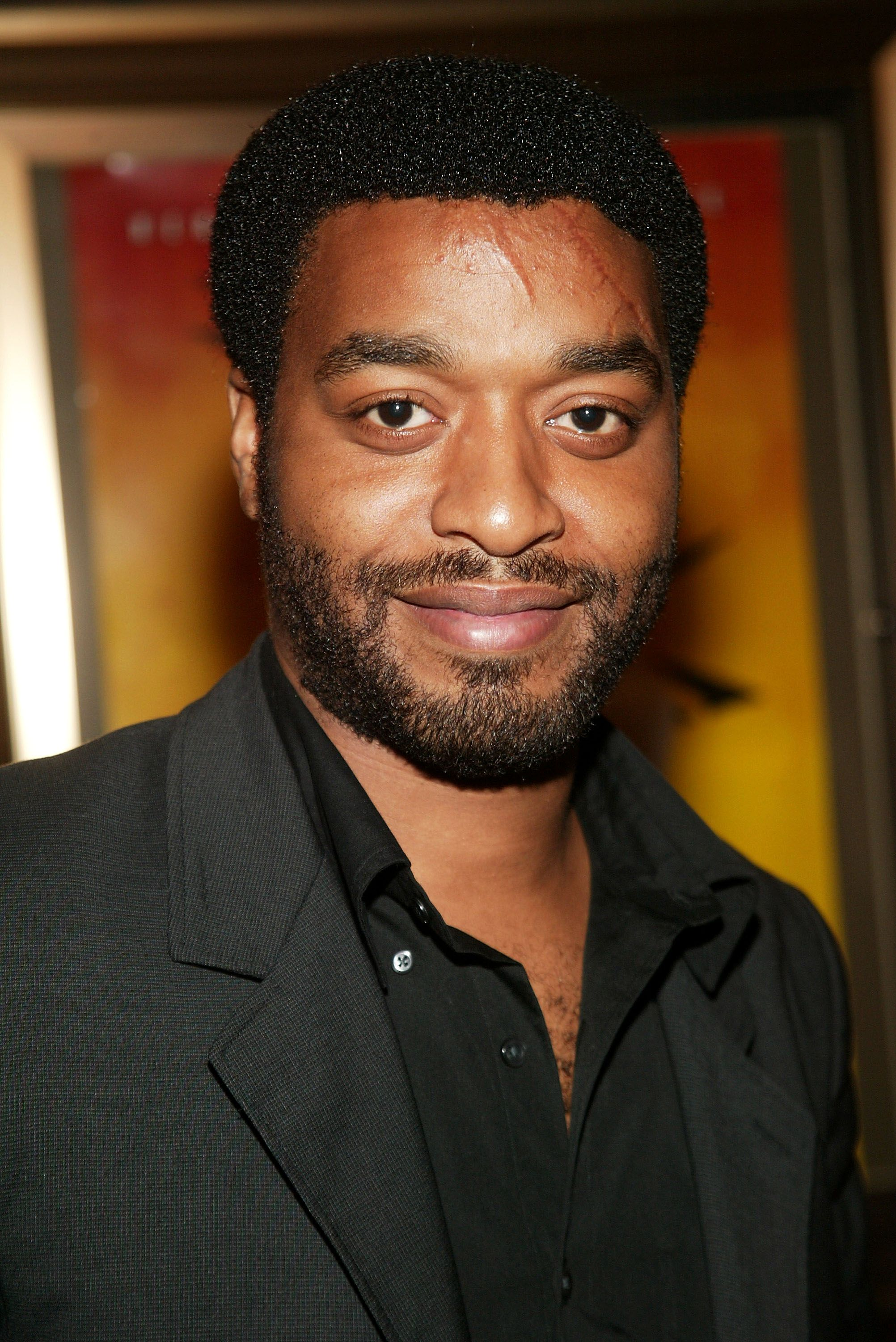 "Actor Chiwetel Ejiofor at the New York premiere of Quentin Tarantino's ""Kill Bill Vol. 1"" at the Ziegfeld Theater October 7, 2003 in New York. 