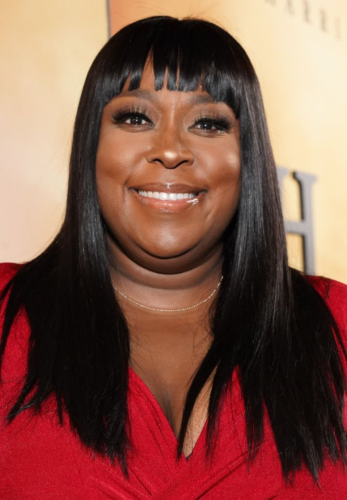 "Loni Love attends the premiere of Focus Features' ""Harriet"" at The Orpheum Theatre 