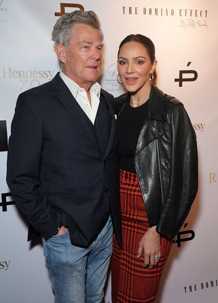 David Foster and Katharine McPhee at Gladys Knight's 75th birthday party | Photo: Getty Images