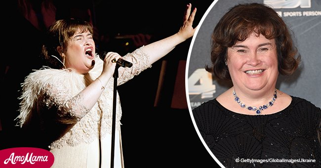 Here's what Susan Boyle was doing before she recently auditioned for America's Got Talent