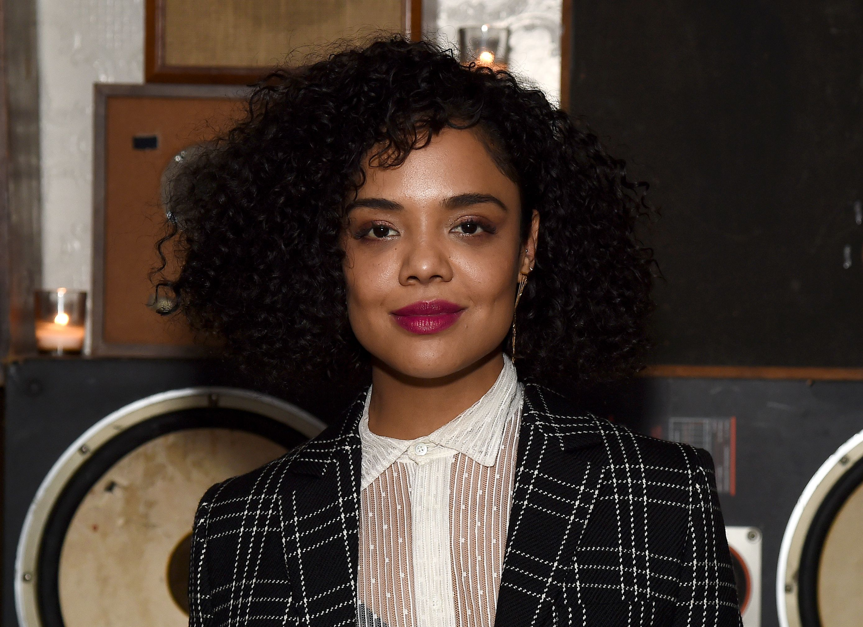 Tessa Thompson attends 2018 Tribeca Film Festival After-Party for Little Woods At Ace Hotel at Liberty Hall at Ace Hotel on April 21, 2018 in New York City. | Source: Getty Images