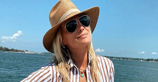 Former Victoria's Secret Model Molly Sims Flaunts Her Stunning Figure in This Post on Instagram