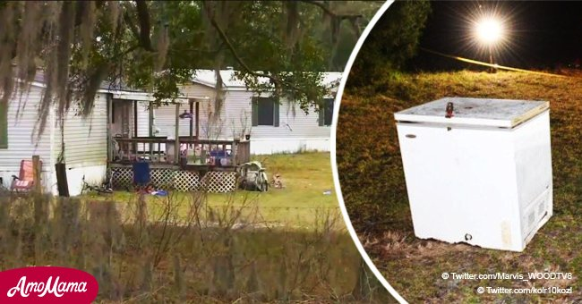 1, 4 and 6-year-old kids die after being accidentally trapped in a freezer while playing outside