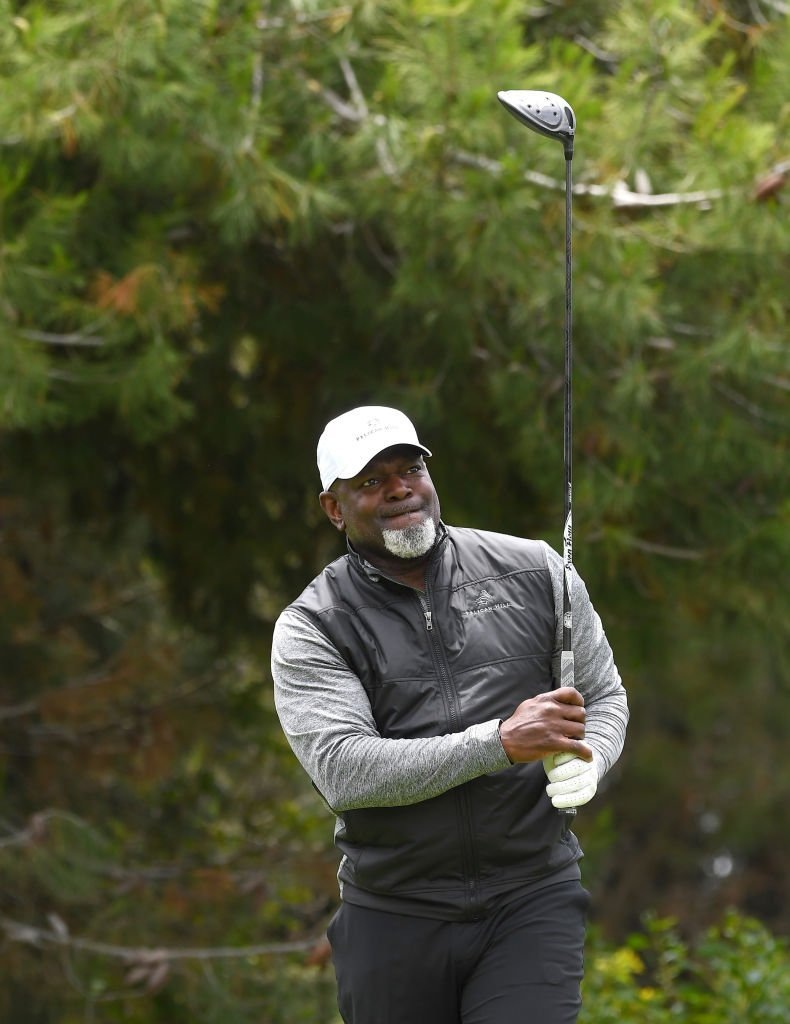 Hall of Famer and former professional NFL player Emmitt Smith participates in the Marcus Allen Charity Golf tournament benefiting Laureus USA and All Stars Helping Kids | Getty Images
