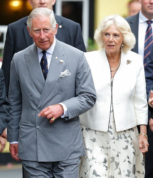 Prince Charles and Camilla on July 20, 2015 in Padstow, England. | Photo: Getty Images