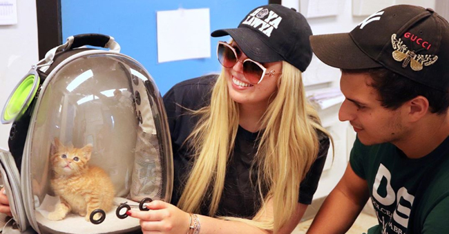 Donald Trump's Daughter Tiffany & Boyfriend Michael Boulos  Adopt Cat from a DC Rescue Shelter