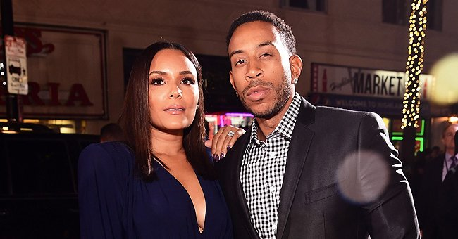 Fans Gush Over Ludacris' Wife Eudoxie as She Poses In a Beautiful Pink Dress during a Vacation