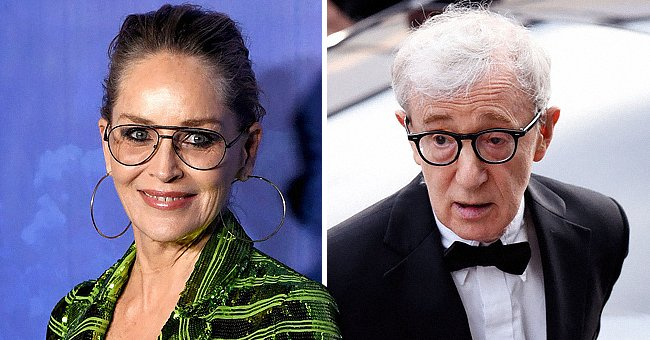 Sharon Stone Defends Woody Allen as She Calls Him Professional Amid Controversial Allegations