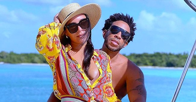 Ludacris' Wife Eudoxie Flaunts Her Baby Bump in a Swimsuit While Posing with Daughter Cadence on the Beach