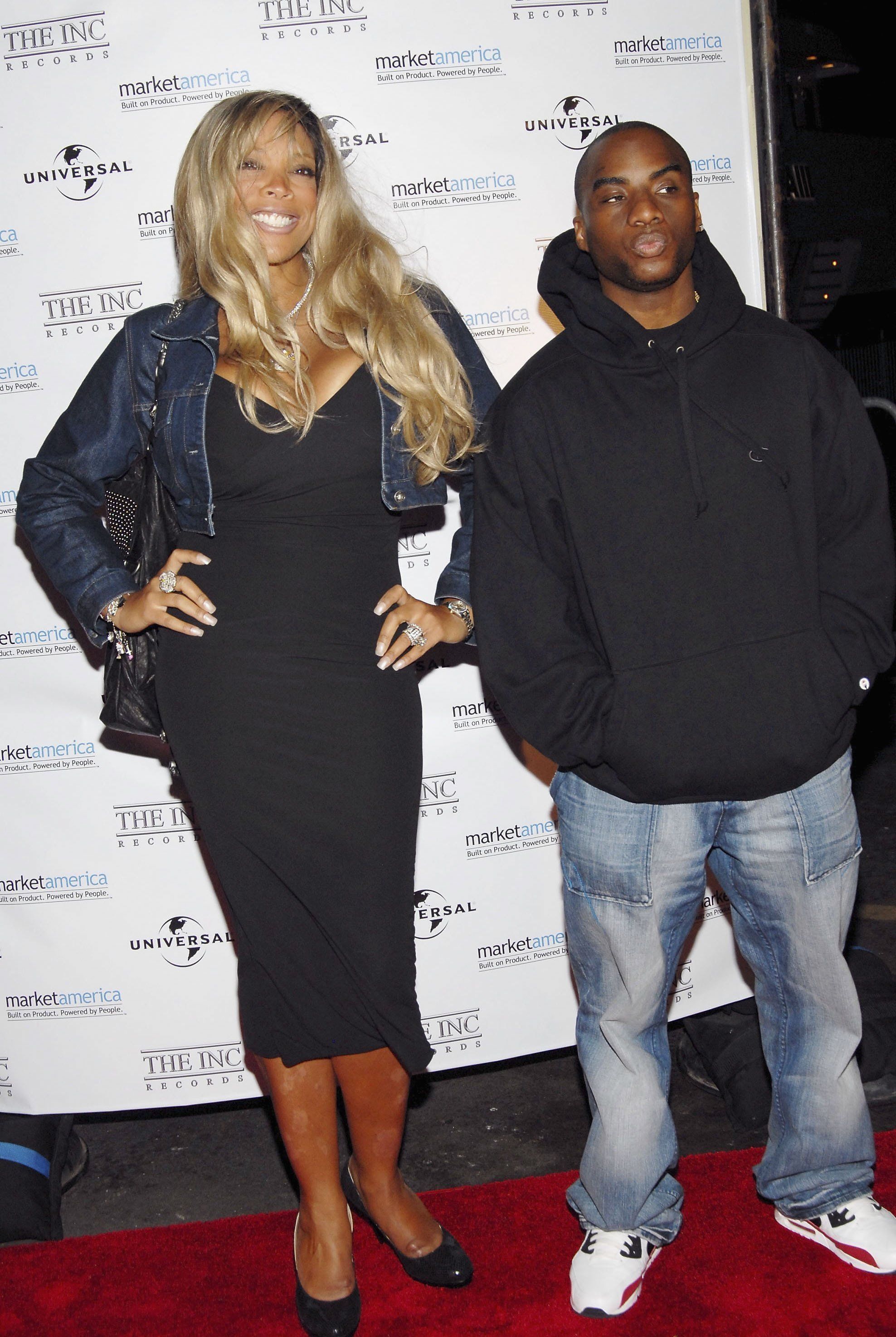 Wendy Williams and Charlamagne attend Irv 'Gotti' Lorenzo's Universal Motown Records Group party at the Utopia III on September 28, 2006 in New York City. | Source: Getty