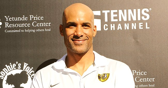 Boris Kodjoe Praises Wife in Touching Post along with a Photo of Her in a Skimpy Striped Dress