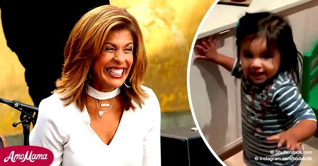 Hoda Kotb shared a sweet video of her little daughter Haley dancing and she's grown so big