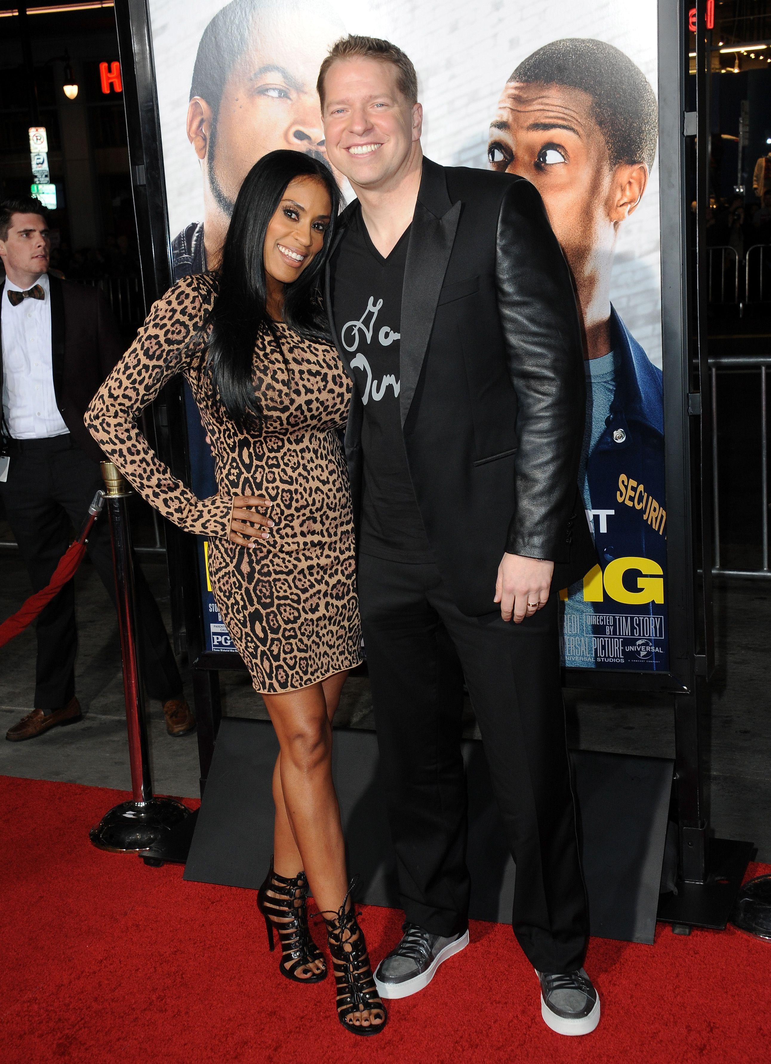 """Kenya Duke and Gary Owen  at the premiere of """"Ride Along"""" on January 13, 2014 in California. 