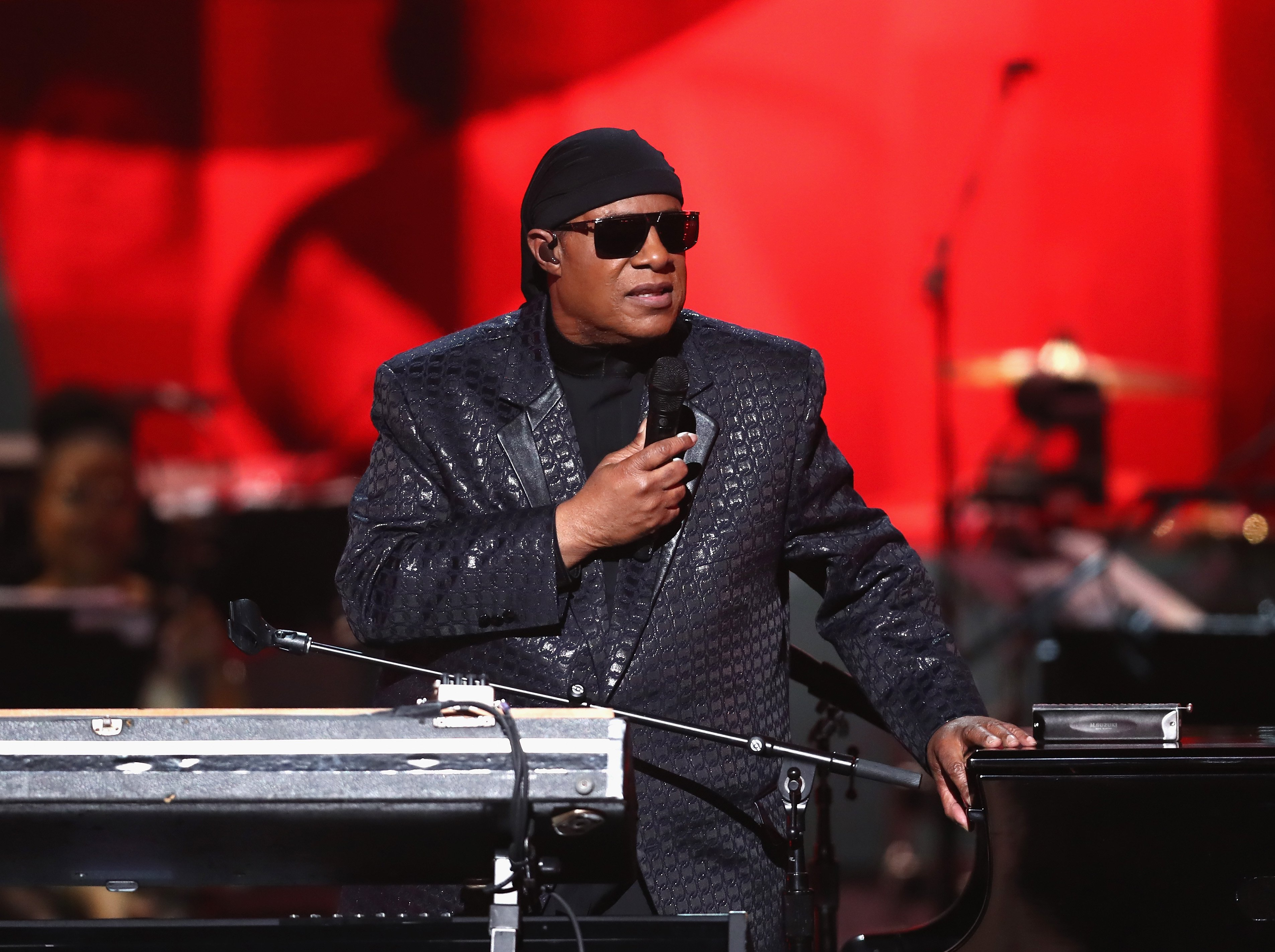 Stevie Wonder performs during Motown 60: A GRAMMY Celebration on Feb. 12, 2019 in California | Photos: Getty Images