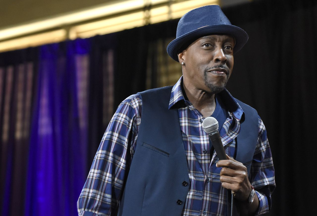 Arsenio Hall performs during KAABOO Del Mar at the Del Mar Fairgrounds. | Source: Getty Images