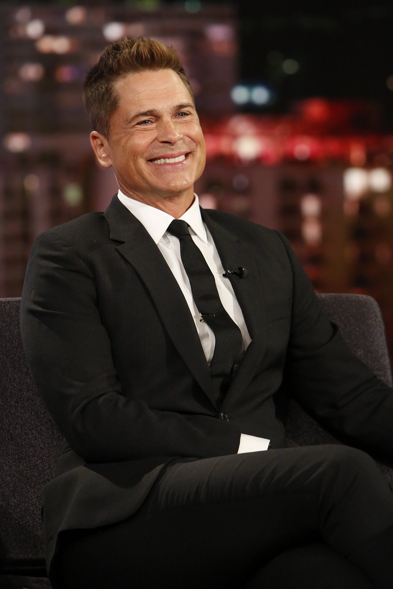 """Rob Lowe during an episode of """"Jimmy Kimmel Live"""" aired on October 30, 2019 