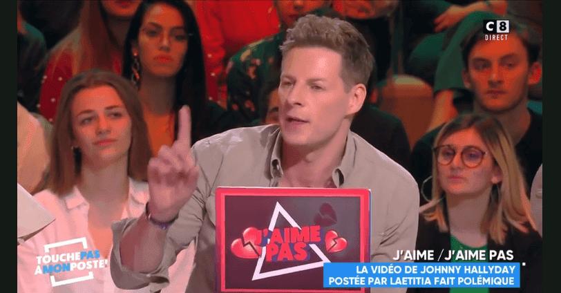 Matthieu Delormeau outré par le comportement de Laeticia Hallyday pour son anniversaire dans TPMP.   YouTube/Dernières news Télé