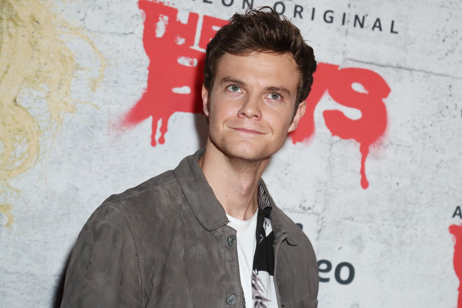 "Jack Quaid attends 2019 Comic-Con International - Red Carpet For ""The Boys"" on July 19, 2019 in San Diego, California 