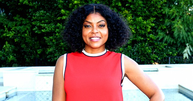 Taraji P Henson Stuns in Photos as She Flaunts Her Enviable Curves in a Skimpy Versace Outfit