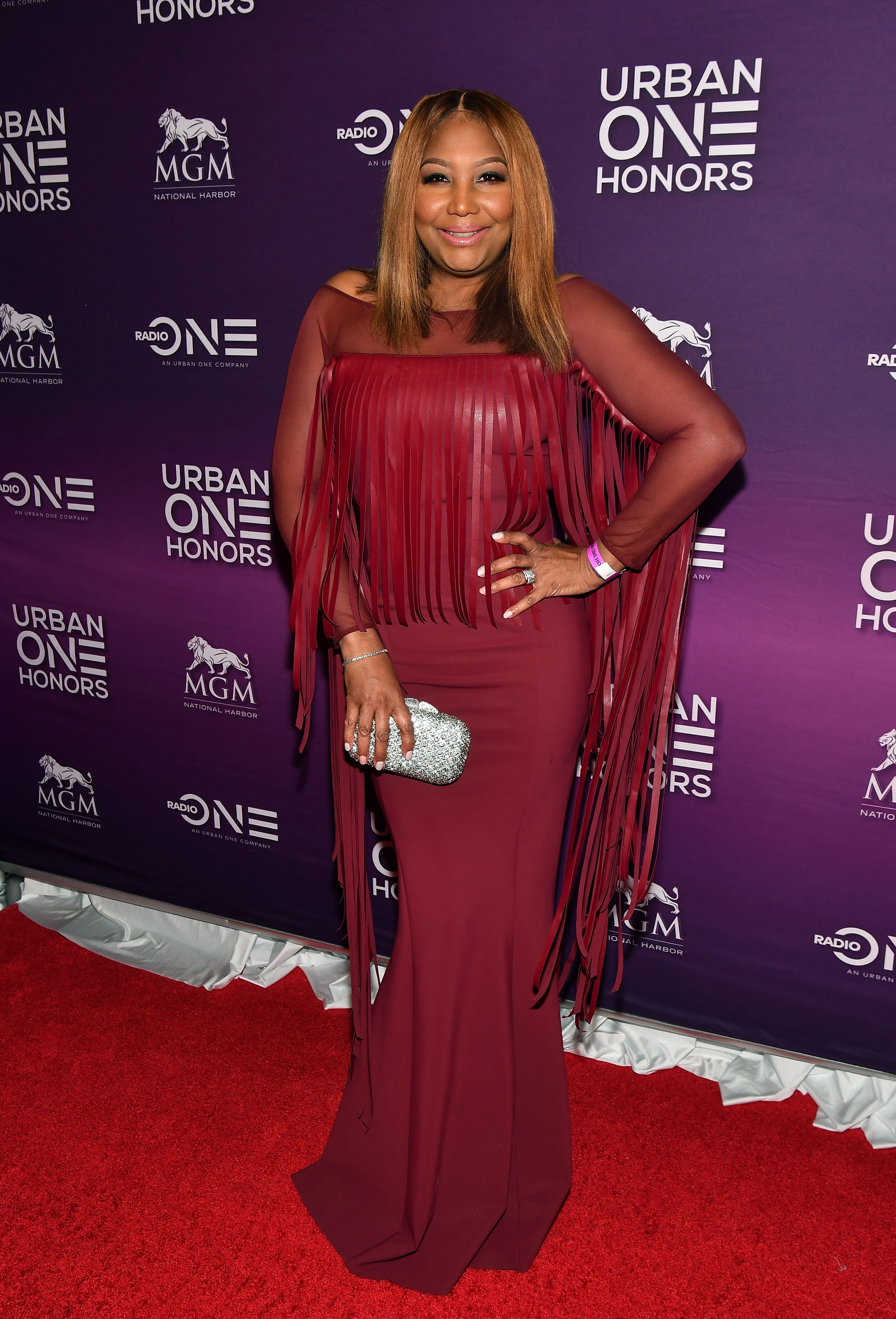 Glamorous gran Traci Braxton at the 2018 Urban One Honors in Washington, DC / Source: Getty Images