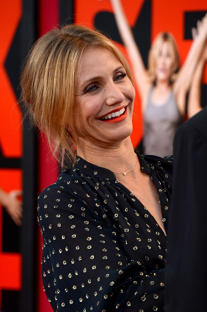 Actress Cameron Diaz during a 2014 premiere event in California. | Photo: Getty Images