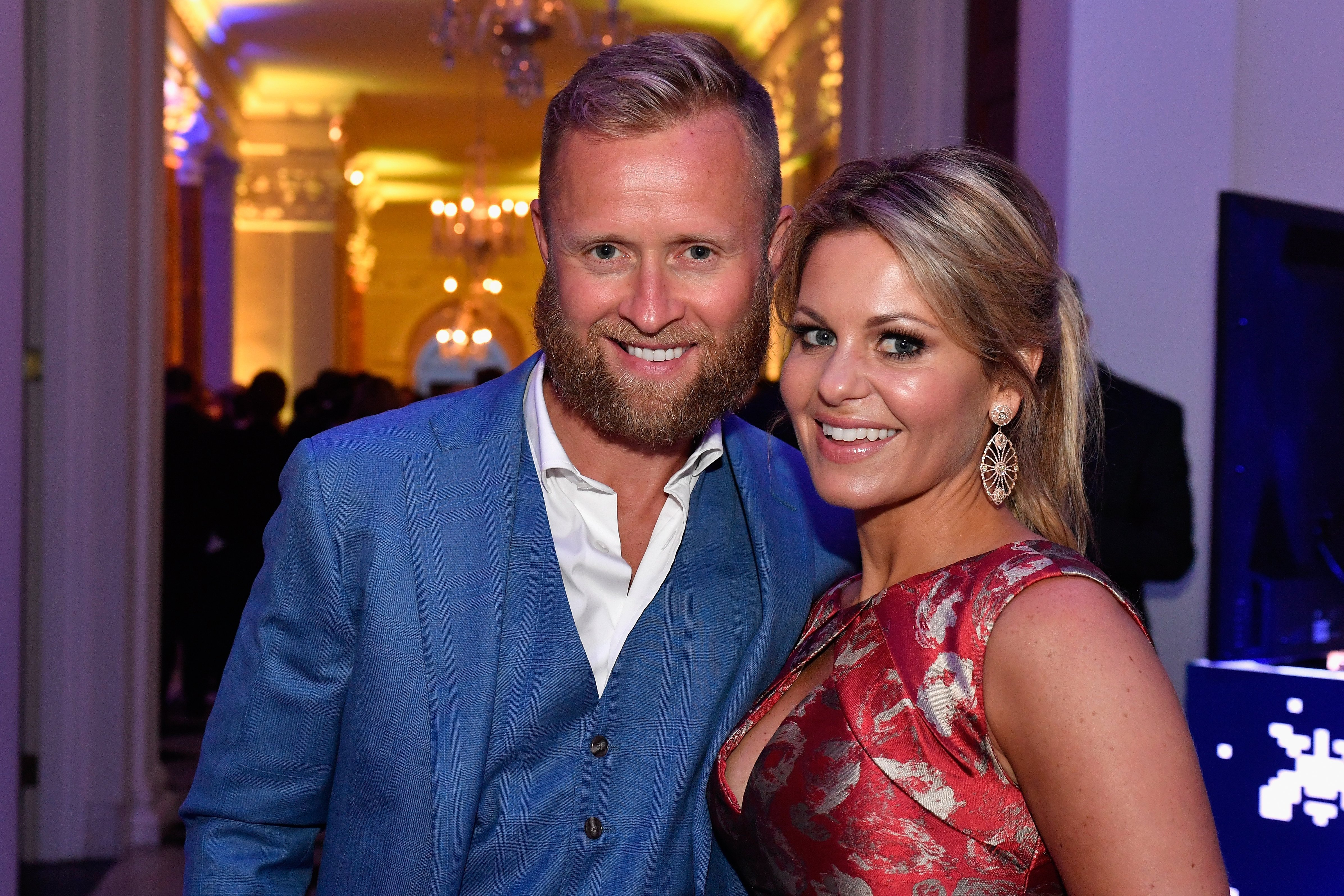 Valeri Bure and actress Candace Cameron-Bure at the Capitol File's WHCD Welcome Reception at British Ambassador's Residence on April 29, 2016 | Photo: GettyImages