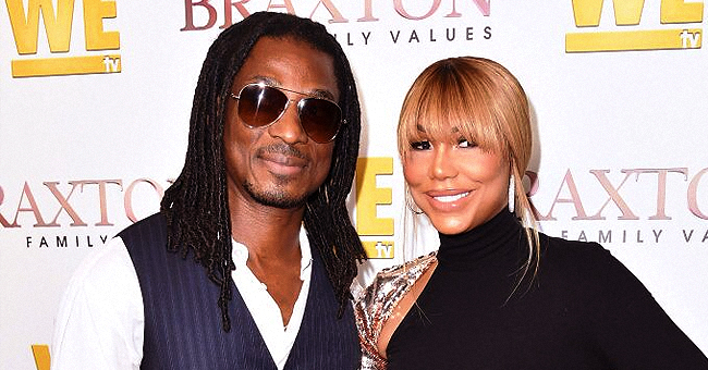 Tamar Braxton's Boyfriend Shares Childhood Photo & Fans Notice His Gorgeous Mom