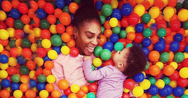 Serena Williams & Husband Alexis Take Daughter Olympia to Disneyland Paris
