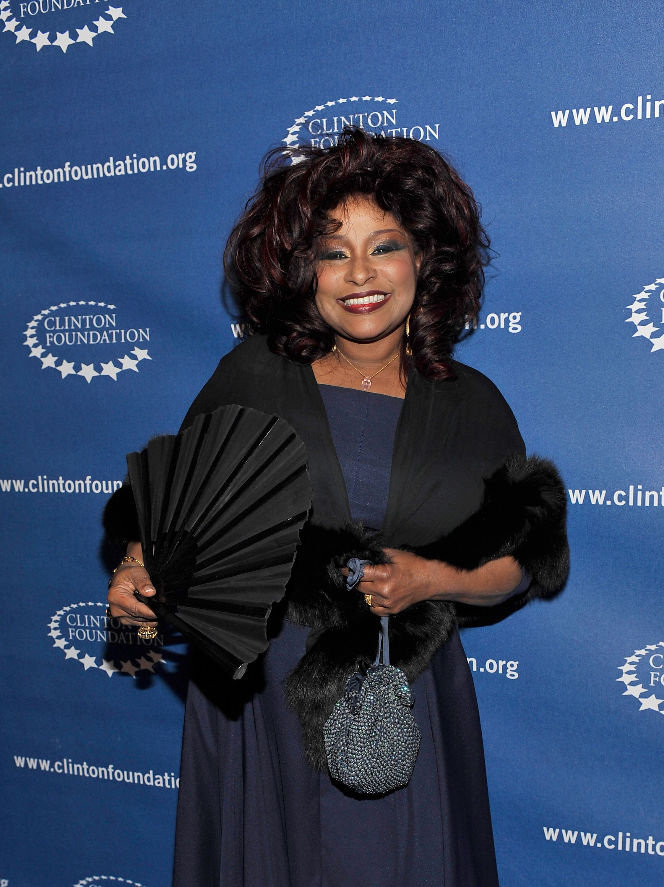 Chaka Khan enjoying a Clinton Foundation Event | Source: Getty Images/GlobalImagesUkraine