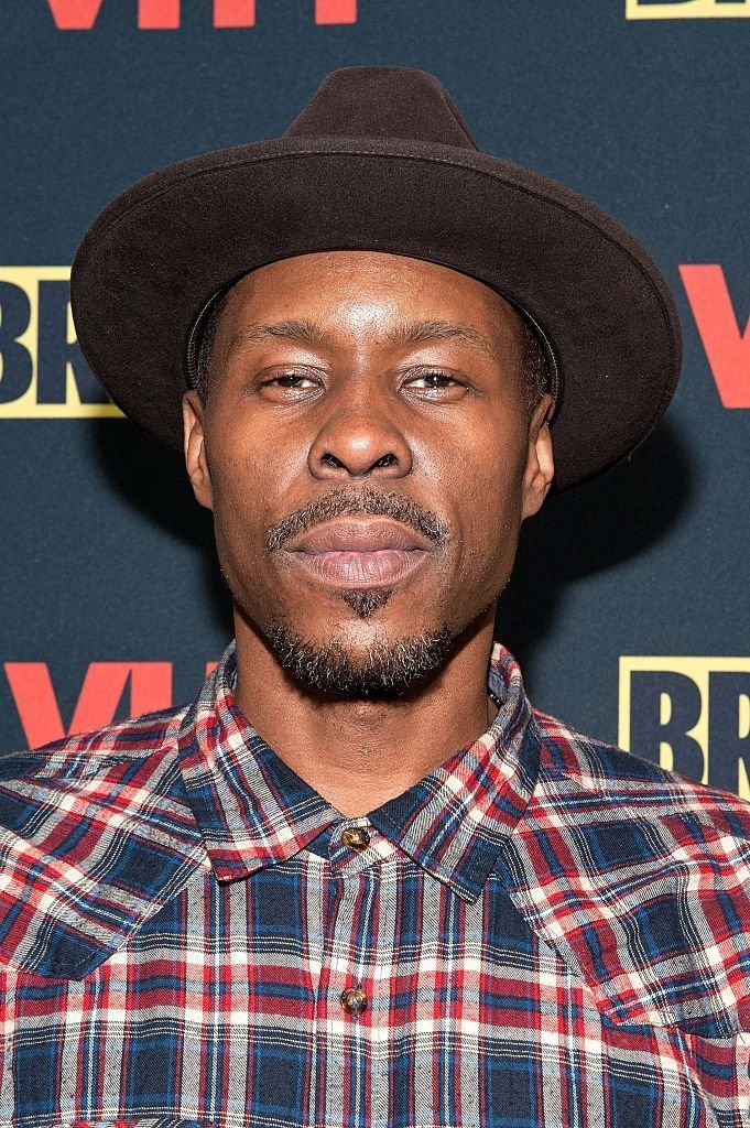 "Wood Harris attending the Vh1 ""The Breaks"" premiere party at Red Rooster Restaurant on December 14, 2015 in New York City. 