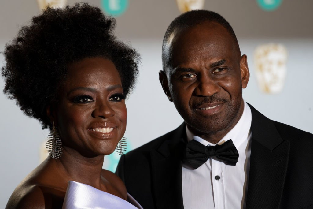 Viola Davis and Julius Tennon. I Image: Getty Images.
