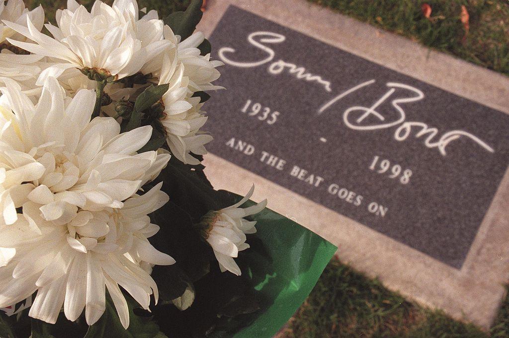 Sonny Bono's gravesite at Desert Memorial Cemetary   Getty Images / Global Images Ukraine