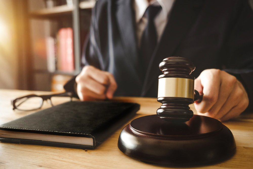 Judge in a courtroom.   Photo: Shutterstock