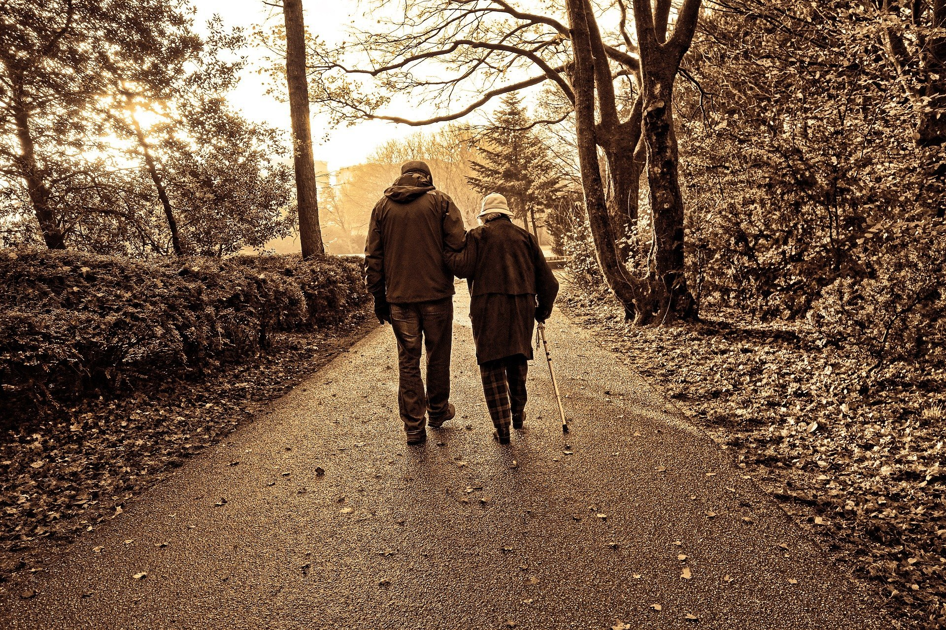 Couple de personnes âgée | Photo : Pixabay