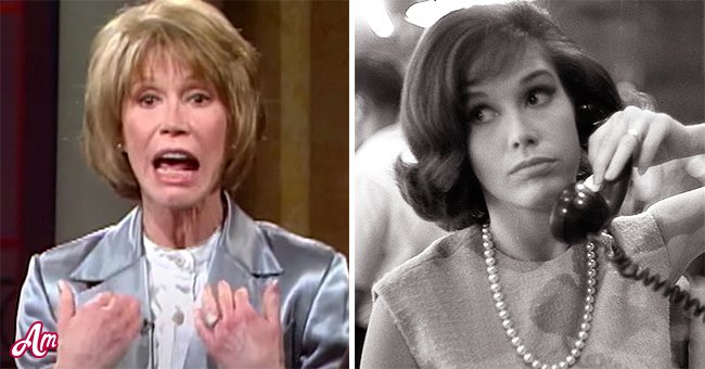 Mary Tyler Moore | Source: Youtube.com/OWN | Getty Images